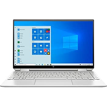 HP Spectre x360 2-in-1 13.3-inch FHD Touchscreen Laptop PC, 10th Gen Intel Quad Core i7-1065G7 Processor, 8GB RAM , 512GB SSD with 32GB Optane,Backlit Keyboard, Windows 10, Natural Silver