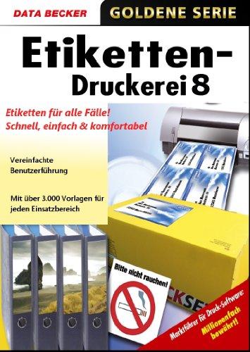 Etiketten-Druckerei 8