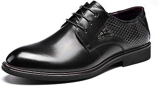 メンズシューズ 革靴 ビジネスシューズ 男性 カジュアル ウォーキングシューズ オックスフォード 短靴 美脚 軽量 通気性 美脚 防臭 レースアップ ファッション 職場 オフィス スーツ サラリーマン リーガル 両色 24cm-27cm