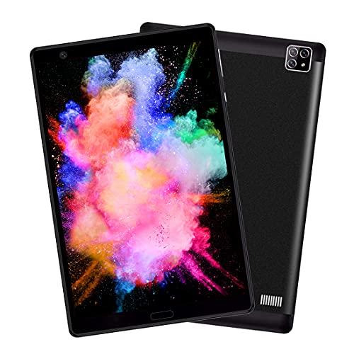 Tablet 8 Pulgadas 4G LTE/WiFi Octa-Core 64GB ROM 4GB RAM Dual SIM Voukou H8 5MP Camera Tablet Android, GPS/Bluetooth/FM/OTG, Negro