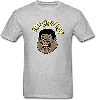RSHSJCZZY Men's Black Short Sleeve Generic Tee Funny Steve Irwin Montage Print T-Shirt