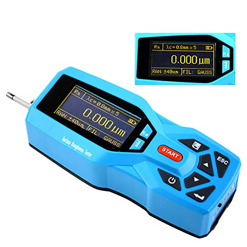 Digitales Oberflächenrauheitsmessgerät, Rauheitstester, Hochpräzises Handgehaltenes Rauheitsmessgerät, Metallkunststoff-Rauheitstester, Datenspeicherung Mit Großer Kapazität / Mit Datenausgangsansch