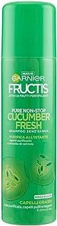 Garnier Fructis Shampoo Secco Non-Stop Cucumber Fresh, Shampoo Senz'Acqua Purificante, 150 ml, Confezione da 1