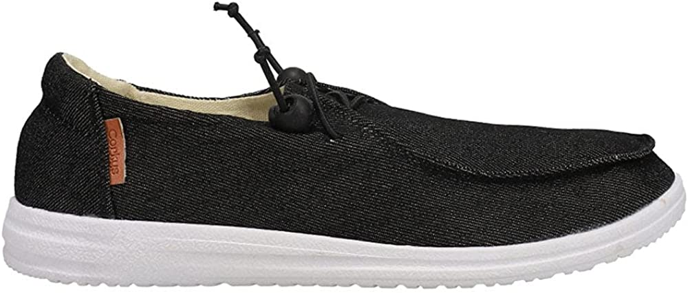 Corkys Womens Kayak Slip On Sneakers Shoes Casual - Black