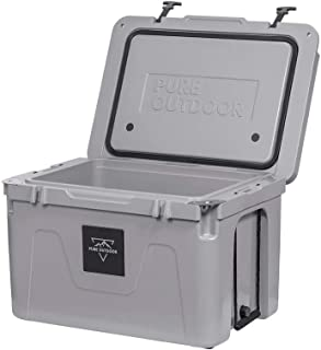 Monoprice Emperor Cooler - 80 Liters - Gray   Securely Sealed, Ideal for The Hottest and Coldest Conditions - Pure Outdoor Collection