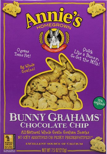 Annie's Homegrown Bunny Grahams Chocolate oz Chip -- 7.5 Ranking Max 82% OFF TOP12