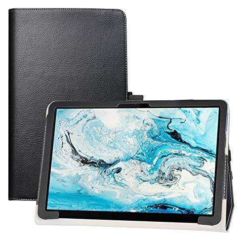 LFDZ Lenovo Chromebook Duet Hülle,Schutzhülle mit Hochwertiges PU Leder Tasche Hülle für 10.1
