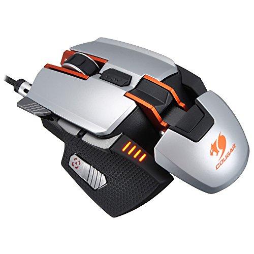 COUGAR クーガー700Mゲーミングマウス シルバー CGR-WLMS-700