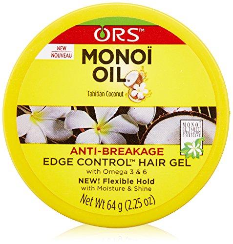 Organic Root Stimulator Monoi Anti-Breakage Edge Control Oil, 2.25 Ounce by Organic Root Stimulator