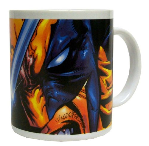 Taza de cerámica de Lobezno de Marvel