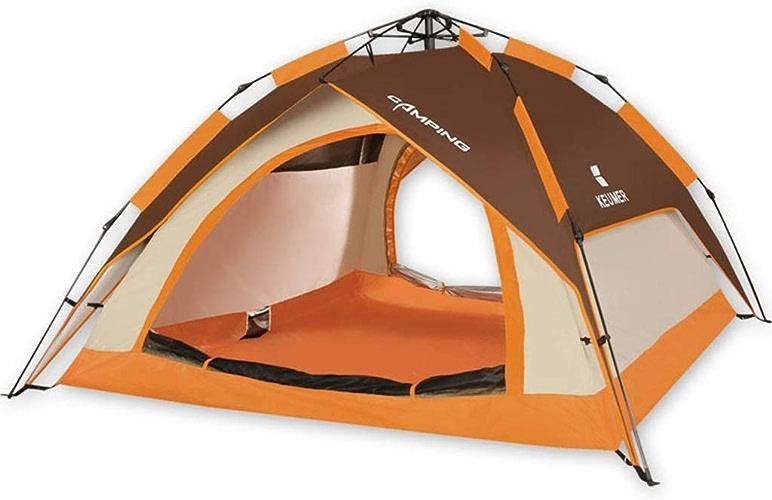 SGLI Tente Extérieure pour Tente De Camping étanche à La Maison pour 3-4 Personnes Tente