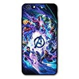 Comics iPhone 7 Case iPhone 8 Case Full Body Protection Cover Cases (Avengers-mv, iPhone 7/8)