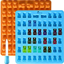 professional You can make rubber chocolate with a pipette, a silicone bear mold with 2 cavities and 53 cavities …