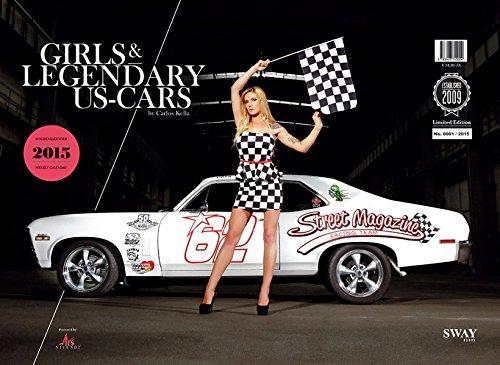 Girls & legendary US-Cars 2015: Wochenkalender