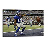 XUYAN Odell Beckham Jr Play Poster Poster Decorative Painting Canvas Wall Art Living Room Posters Bedroom Painting 16x24inch(40x60cm)
