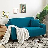 Funda Cubre Sofá,Granos de maíz blanco Juegos de sofás Con funda de almohada Alta elasticidad Fundas decorativas Puede usarse como 1 2 3 4 Plazas prueba de polvo Anti arruga(Size:2 Seater,Color:J)