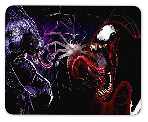 Venom & Carnage Mouse Pad Non Slip Rubber Mousepad Gaming Office Rectangle Mouse Mat