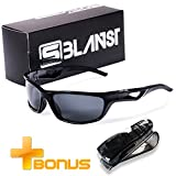 Polarized Sunglasses for Men - Women | Full UV Protection | Best Sports Shades | Comfortable Unbreakable Frame...
