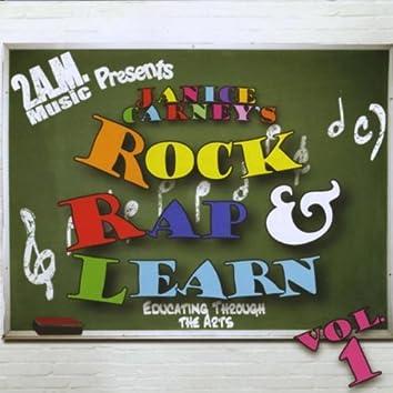 JANICE CARNEY'S ROCK RAP & LEARN, VOL. 1