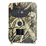 Amuzocity Outdoor Game Hunting Trail Camera Scouting IR CAM 12MP HD 1080P Video Camcorder Camera