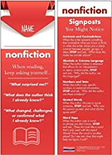 Reading Nonfiction Student Bookmarks: 30-Pack