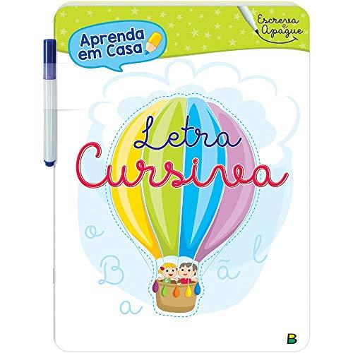 Aprenda em Casa - Escreva e Apague: Letra Cursiva