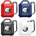 4-Pack Innufeal Protective Case Compatible with Apple AirTag