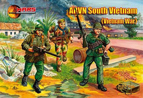 Mars Figures 32009-1/32 ARVN South Vietnam (Vietnam War) Vietnam War Model kit