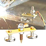 Welding Magnet Head Magnetic Welding Support Welding Machine Ground Connector Spotter Connector Car Dent Repair Spare Parts Stud Auto Bodywork Spotter Tools (B)