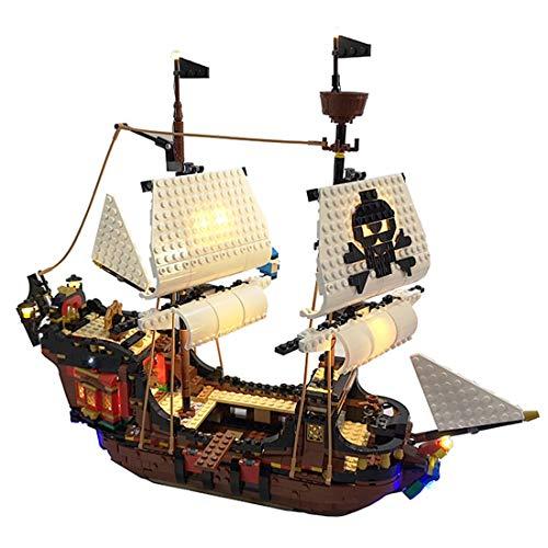 Oeasy Kit de luz LED para Lego 31109 Creator 3 en 1...