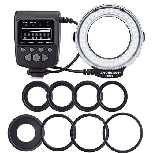 Meike FC-100 per Nikon Canon FC 100 Macro Ring Flash/Light per Nikon D7100 D7000 D5200 D5100 D5000 D3200 D310