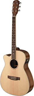 James Neligan ASY-ACE LH ASYLA Series Left Handed Auditorium Cutaway Acoustic-Electric Guitar