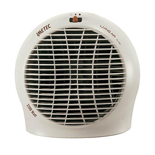 Imetec Living Air C1-100, 4910G, 75902, Termoventilatore Compatto