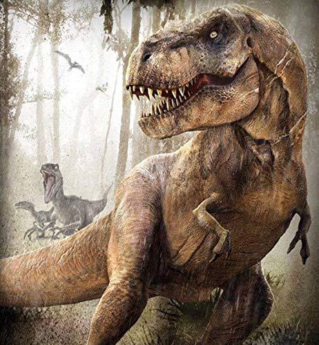 Puzzle 1000 Piezas Regalo de decoración de Dinosaurio Animal Puzzle 1000 Piezas clementoni Gran Ocio vacacional, Juegos interactivos familiares50x75cm(20x30inch)