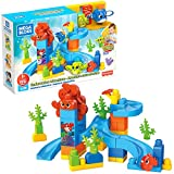 Mega Bloks Peek A Blocks Underwater Adventure Preschool Building Set Multi, 50 pieces