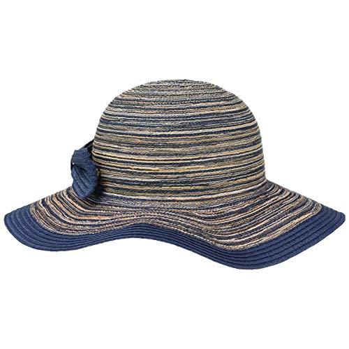 Lipodo Sombrero de ala Ancha Amina Stripes Mujer - Verano Playa Sol Primavera/Verano