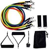 Arcess 11-Piece Exercise Resistance Band Set