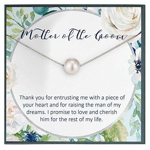 Collar de regalo para madre del novio de la novia, regalo de boda futura, regalo de novia a suegra, idea de regalo para novio mamá