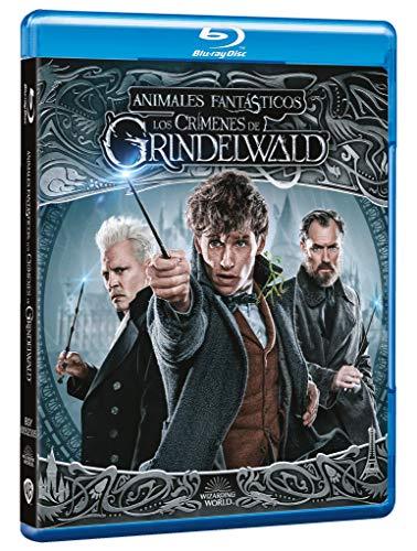 Animales Fantásticos: Los Crímenes de Grindelwald [Blu-ray]