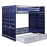 ACME Cargo Bunk Bed (Full/Full) - - Blue