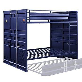 ACME Cargo Bunk Bed  Full/Full  - - Blue