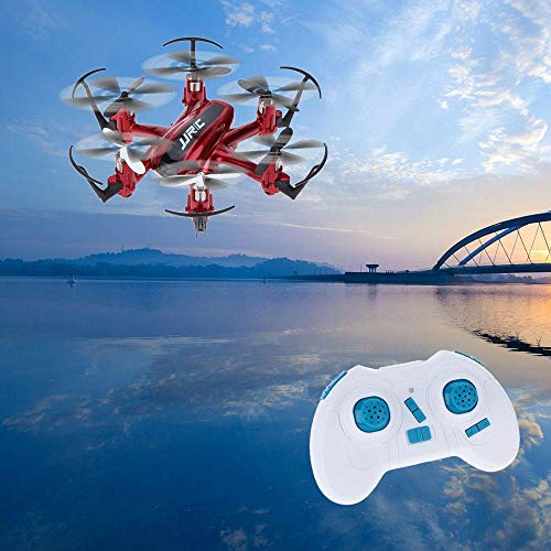 Exiron Original JJRC H20 2.4G 4 Channel 6-Axis Gyro Mini Drone Hexacopter with CF Mode One Key Return RTF RC Quadcopter