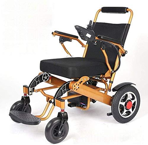 mjj Intelligenter automatischer tragbarer elektrischer Rollstuhl-Doppel-Vierrad-Roller-Falten-Leichter älterer älterer älterer elektrischer Rollstuhl