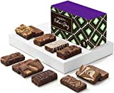 Fairytale Brownies Father's Day Sprite Dozen Individually Wrapped Gourmet Chocolate Food Gift Basket - 3 Inch x 1.5 Inch Snack-Size Brownies - 12 Pieces - Item HD212