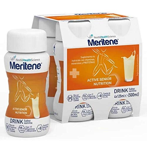 Meritene Meritene Drink Vainilla, 4x125 ml