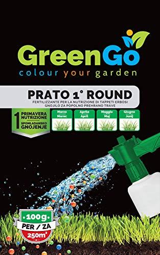 GreenGo Concime Prato Primaverile in Pratica Busta Monodose
