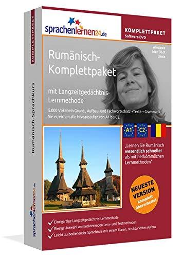 Rumänisch Sprachkurs: Fließend Rumänisch lernen. Lernsoftware-Komplettpaket