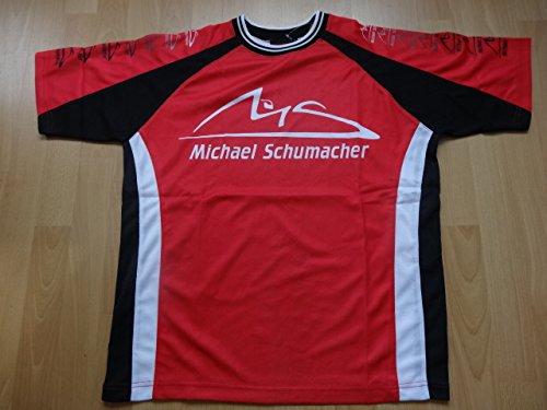 Michael Schumacher Ferrari Trikot Polyester F1 L