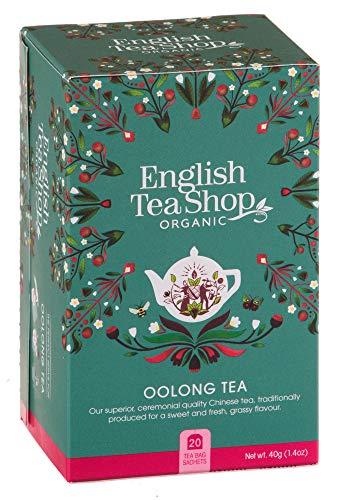 DEU Bio Chinesischer Oolong Tee Englischer Teeladen - 1 x 20 Teebeutel (40 Gramm)