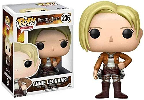 A-Generic Pop: Attack on Titan - Annie Leonhart # 236 de Anime Collectible Gift
